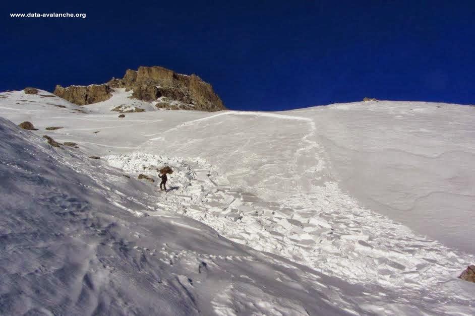 Avalanche Vanoise, secteur Col de Roche Noire, Champagny en Vanoise - Photo 1