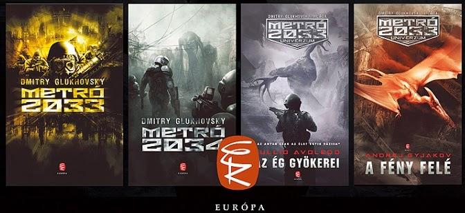 A Metró Univerzum könyvei magyarul
