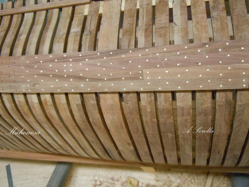 Mahonesa frégate- 34 canons1789 à 1:32 par A. Sorolla plans de Fermin Urtizberea MA1503006