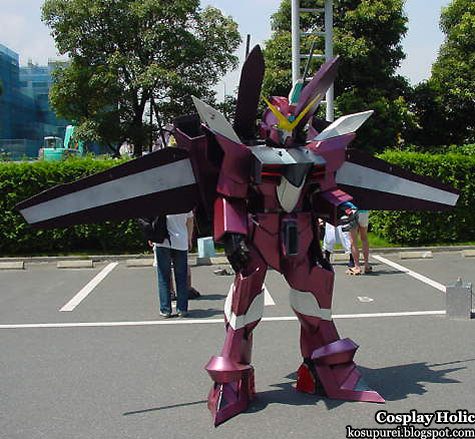 gundam seed cosplay - ZGMF-X09A Justice Gundam