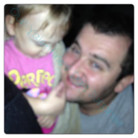 Daddy Daughter Photobomb