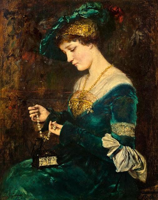Gustave Jean Jacquet - La casque de bijoux