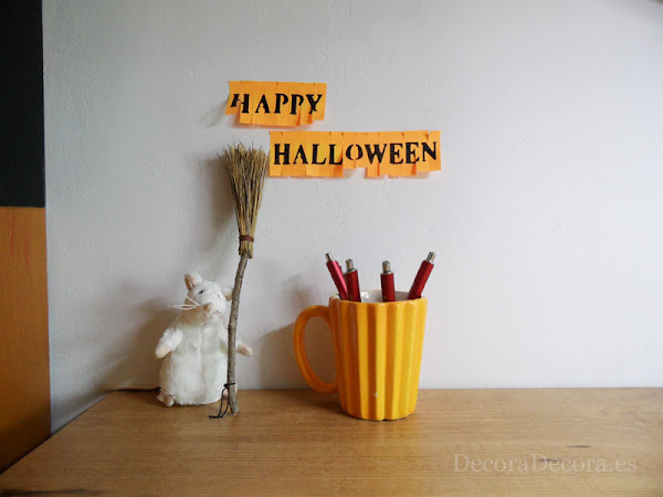 Decorar oficina Halloween