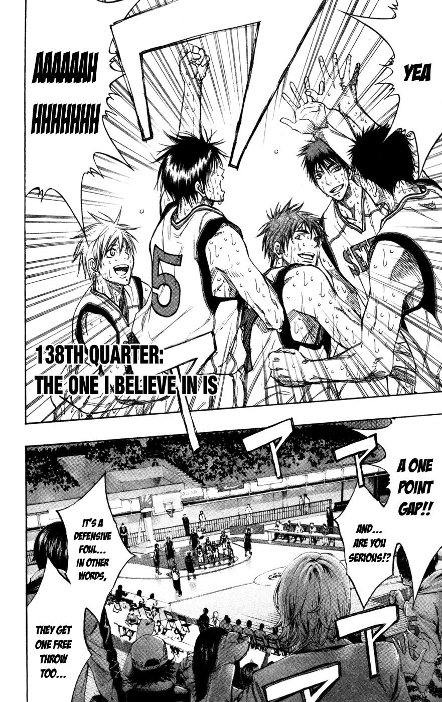 Kuroko no Basket Manga Chapter 138 - Image 04