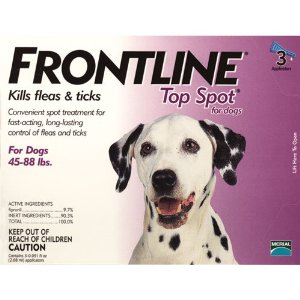 Merial Frontline Top Spot Flea and Tick Control for Dogs and Puppies