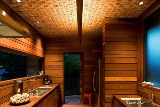 Leaf House 13 1 750x500 Kiến trúc nhà lá thú vị tại Brazil
