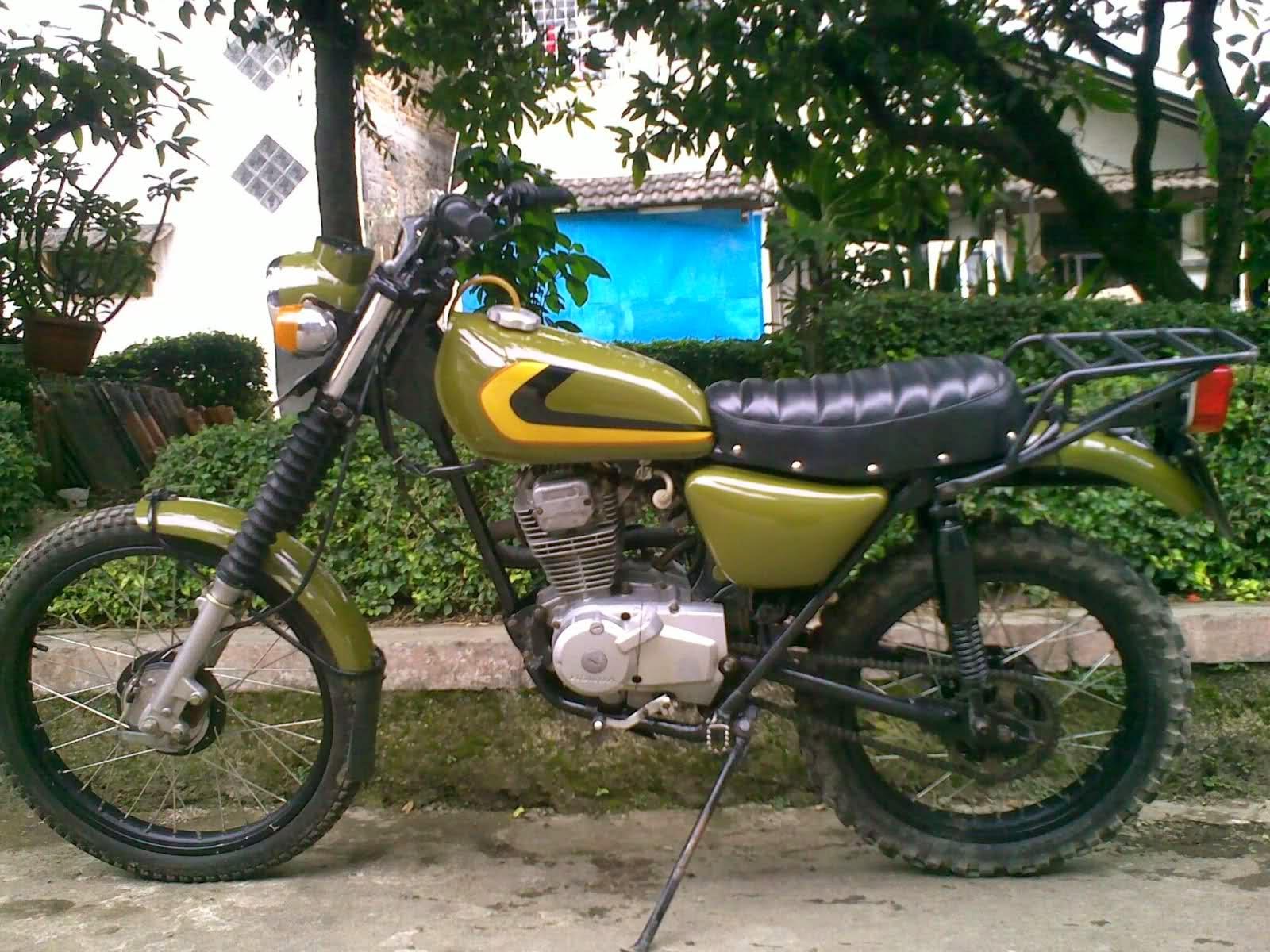 Kumpulan Modifikasi Motor Trail Cb Terupdate Velgy Motor
