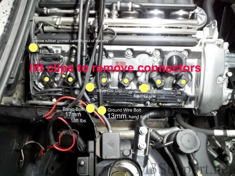e46 m3 spark plug coil diy bmw e46 m3 support rh m3support net Spark Plugs E46 M3 BMW Spark Plug Replacement Problems