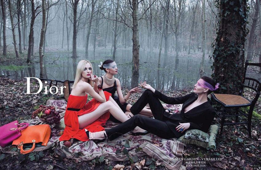 *Dior的秘密花園 Dior Secret Garden:凡爾賽精靈搖晃著鞦韆! 5