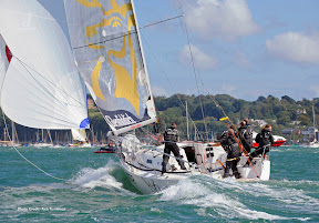 J/97 sailing Cowes Week on the Solent