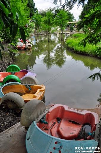 沐卉親子農場划船區