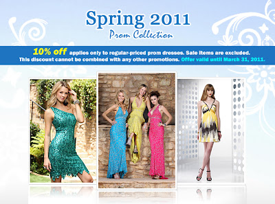 Get 10% off your purchase on any regular-priced items at trendycollection.com until April 21! Just enter the code prom10 at checkout to redeem your discount! We've got the hottest prom dresses, evening dresses, and special occasions dresses!