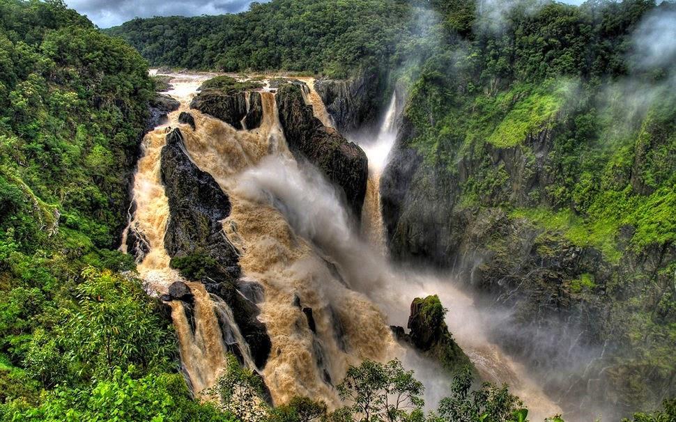 Баррон, Австралия, Красивые водопады планеты