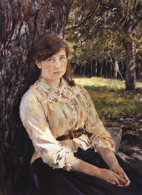 Valentin Serov - Girl in the Sunlight