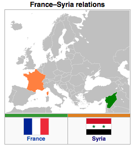 France - Syria Relations