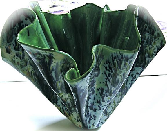 """Folded Vessel"" by artist Serena Boschert."