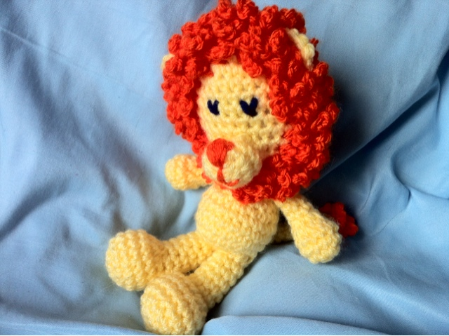 Little Amigurumi Lion : Little Lion Amigurumi