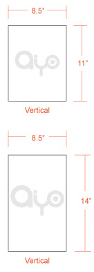 AIYOPRINT - Letterhead Dimensions and Printing Specs