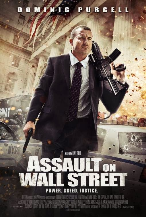 Poster Of English Movie Assault on Wall Street (2013) Free Download Full New Hollywood Movie Watch Online At Alldownloads4u.Com