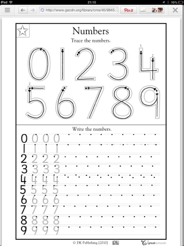 As Well As Number Patterns Worksheets Kindergarten Also Number Tracing ...