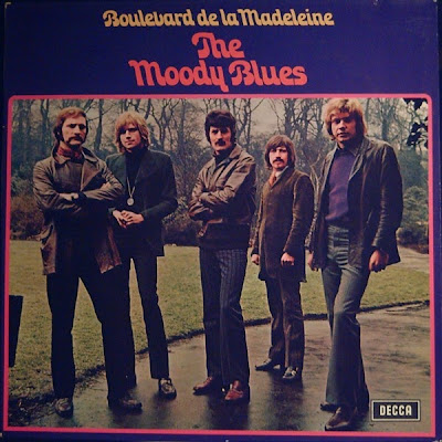 the Moody Blues ~ 1968 ~ On Boulevard De La Madeleine