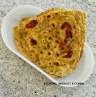 Instant Methi thepla- Gujarati spiced fenugreek roti