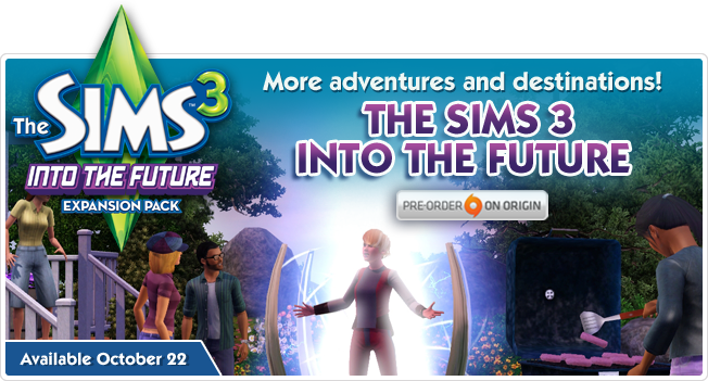 Sims 3 Into the future releasedate