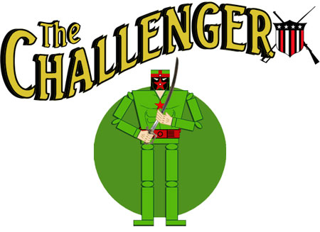 Golden Age Superhero The Challenger Papercraft