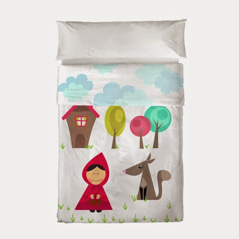 Mr Fox Grandma Bedding - little red riding hood