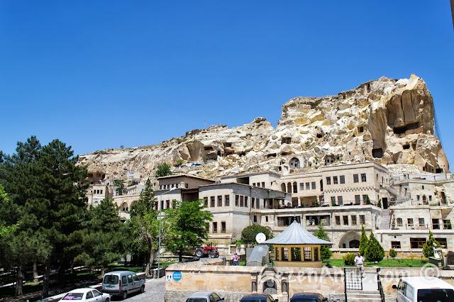 Kapadokya'da Ürgüp'ün tarihi kısmı