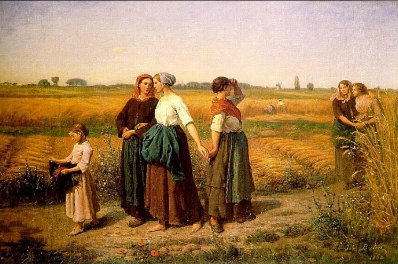 Jules Breton - The Reapers