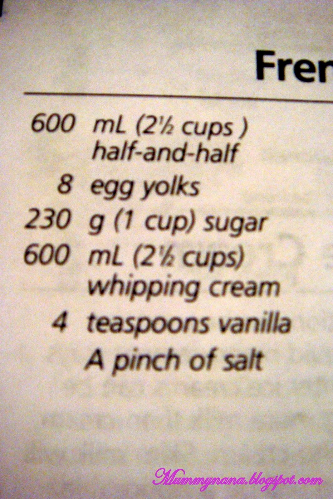 kitchenaid ice cream instructions
