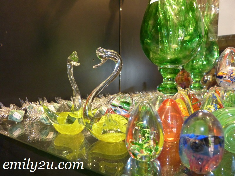 crystal glass blowing