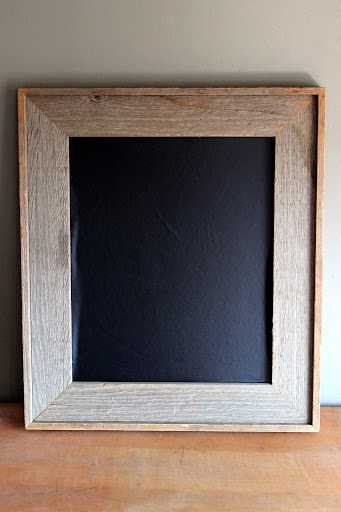 Barnwood frame chalkboard available for rent from www.momentarilyyours.com, $8.00.