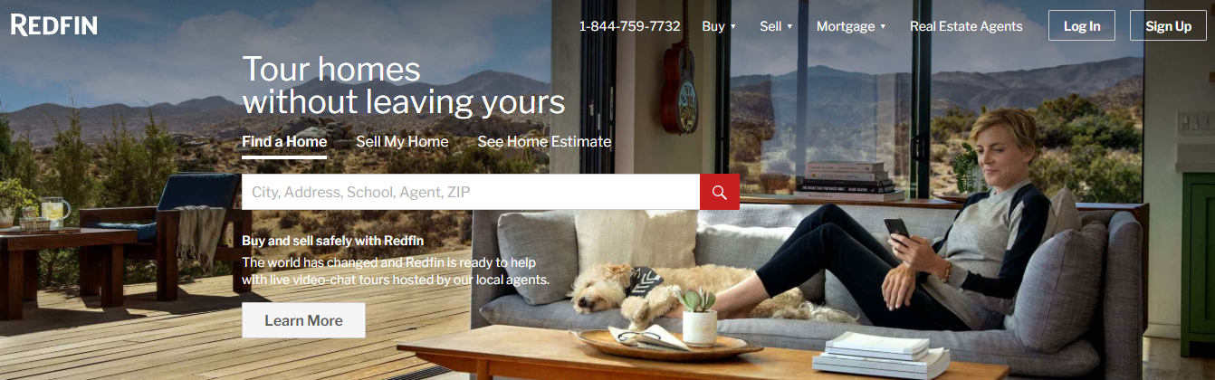 Real Estate Marketplace - RedFin