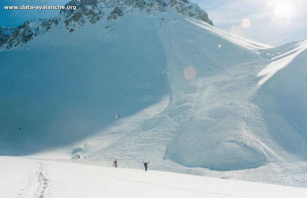 Avalanche Maurienne, secteur Grand Galibier, Pointe du Vallon - Versant Nord - Photo 1 - © Macel Jacqueline