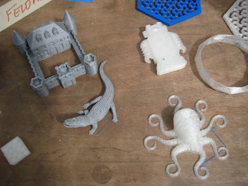 Items created by the Ultimaker...
