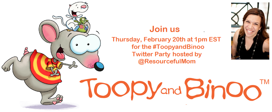 Toopy and Binoo Twitter Party