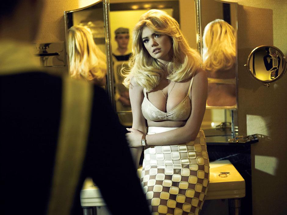 *凱特阿波頓(Kate Upton)化身復古女郎:登上V Magazine #81的2013春季號! 1