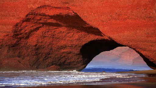 Red Cliffs of El Gezira, Mirleft, Morocco.jpg