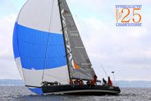 J/145 JEDI sailing off Seattle