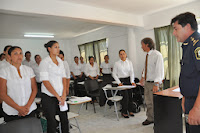 De acuerdo al compromiso comprendido entre el Gobierno municipal y el Gobierno provincial, este lunes por la mañana comenzaron las clases del curso para los aspirantes a formar parte de la Policía Local Cañuelas