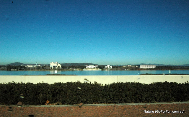 Canberra, the Very First Impression - Part 2 - Driving on Canberra Roads. A Capital of Australia
