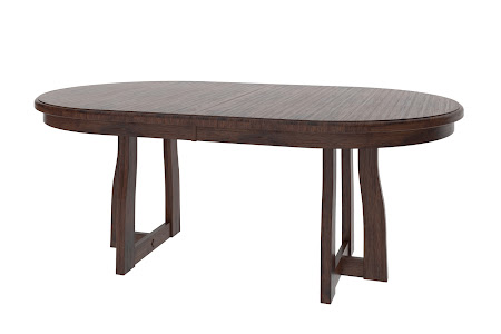 "70"" x 36"" Brewster Table in Twilight Oak"
