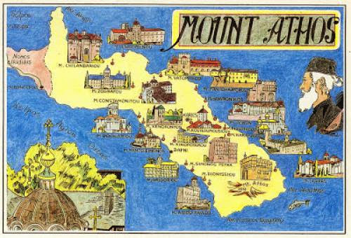 An American Pilgrim On Mount Athos 1