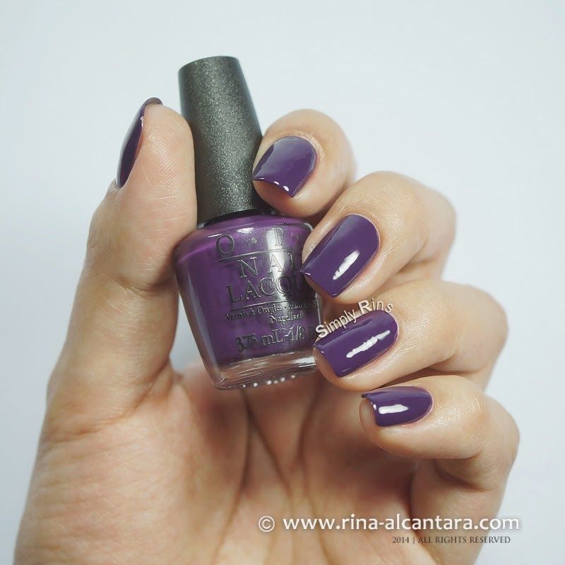 OPI Grape Affair