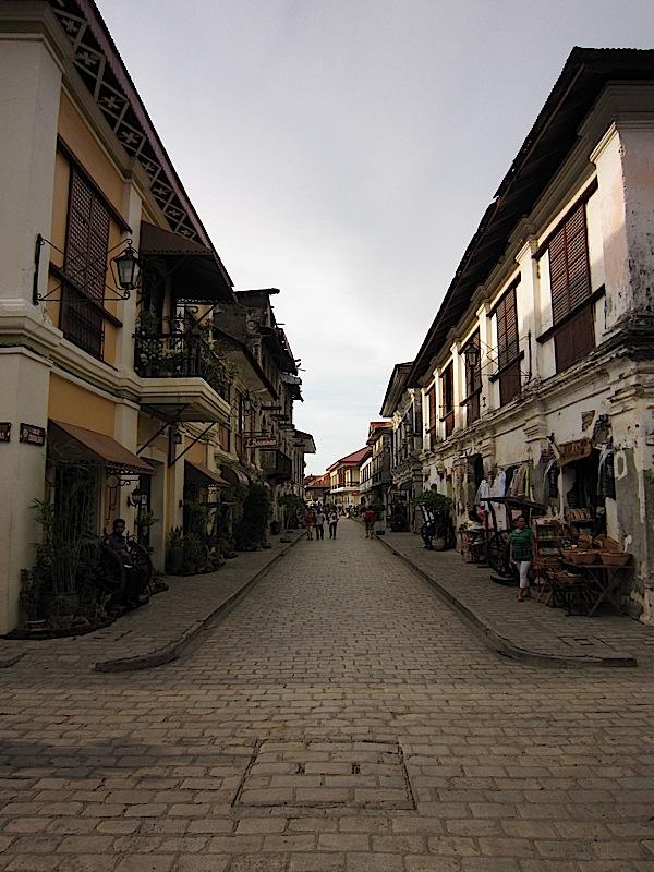 Calle Crisologo in Vigan, Ilocos Sur