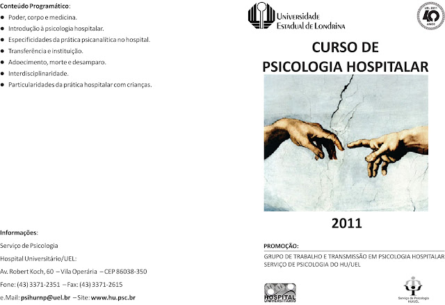 Cursos de psicologia hospitalar