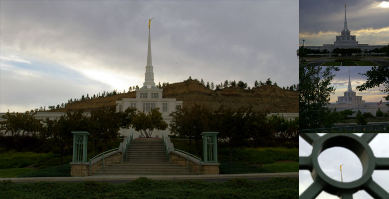Billings Montana Temple, August 4, 2006