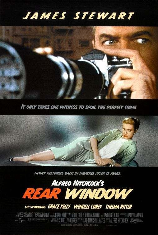 Poster Of Rear Window (1954) Full Movie Hindi Dubbed Free Download Watch Online At Alldownloads4u.Com